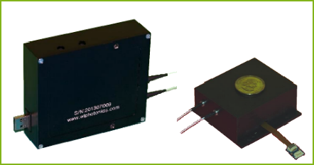1.5 micron Fibre Amplifiers Pulsed